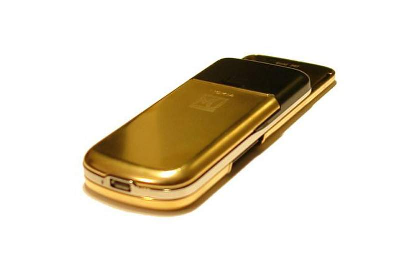 MJ - Nokia 8800 Gold Arte Limited Edition. Gilding AMG or Pure Solid Gold 24 Carat