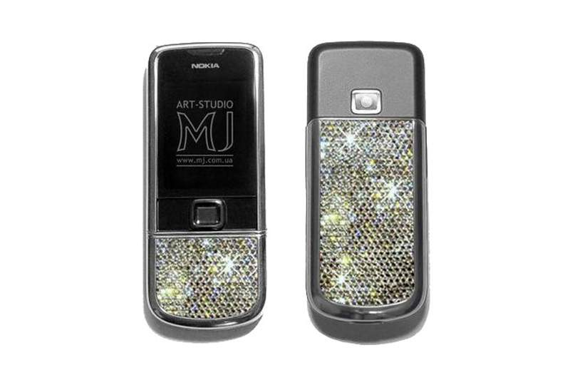 MJ - Nokia 8800 Platinum Arte Diamond Limited Edition