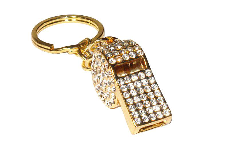 MJ - Luxury Sport - Unique Gold Whistle Decorate Diamonds